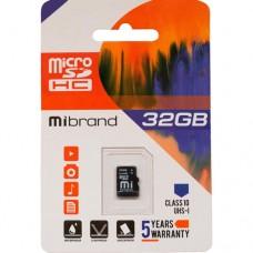 Карта памяти Microflash microSD HC (Class 10) 32GB