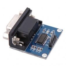 Модуль RS232 - TTL конвертер на MAX3232 поддержка  Win7/Vista/XP/2000/ME/98