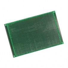 Плата монтажная №15 80x120mm c двухсторонней металлизацией