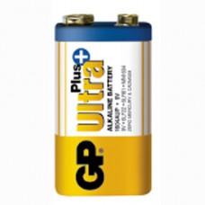 Батарейка GP Ultra Plus 1604AUP-5S1 6LF22 9V (крона)