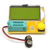 Универсальный тестер LCR-T4 Mega328 (резисторы, диоды, транзисторы, тиристоры, ESR емкость конденсаторов, индуктивность) 9V