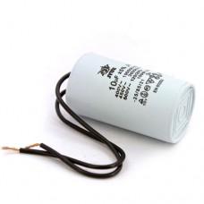 Пусковой конденсатор 10uF 450V ±5% 50/60Hz -25.. +85°C EN60252 гибкие выводы