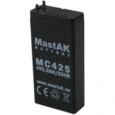 MastAK MT425 (4V2.5Ah/20hr) аккумулятор