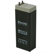 MastAK MC411 (4V1.1Ah/20hr) аккумулятор