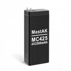 MastAK MC425 (4V2.5Ah/20hr) аккумулятор