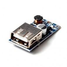 Импульсный модуль питания DC-DC повышающий напряжение с 0.9 до 5V 600mA Step UP Boost