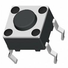 Кнопка тактовая TS-1102 4pin DC 12V 50mA 100000 циклов H4.0