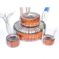 Трансформатор 100/12-13х тороидальный (100VA 50Hz, на выходе 12-12.5-13V под нагрузкой 7.7A)